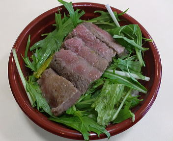 絶品!すし&丼まつり 県産牛ステーキ丼