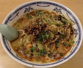 笑美寿亭 野菜入和風担々麺