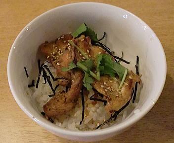 笑美寿亭 鶏生姜焼丼