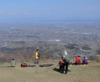 角田山 灯台コース④