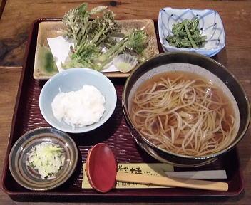 塩屋橘 そば膳(温)