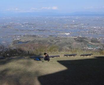 角田山登山 灯台コース④
