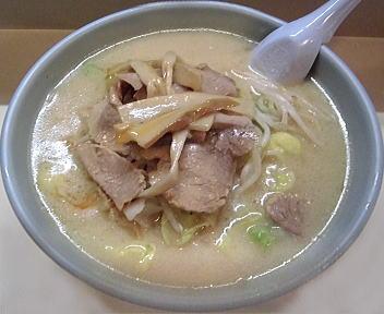 古潭 野菜味噌ラーメン(大盛)+チャーシュー+メンマ