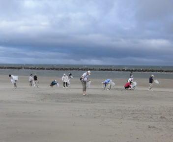 平成25年度 海岸一斉清掃