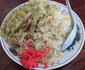 ますや 肉チャーハン(大盛)