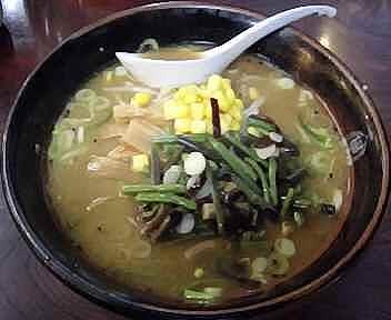 ラーメン大学角館店 山菜ラーメン