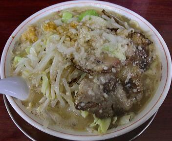 ドカメン 子豚ラーメンダブル(大盛)