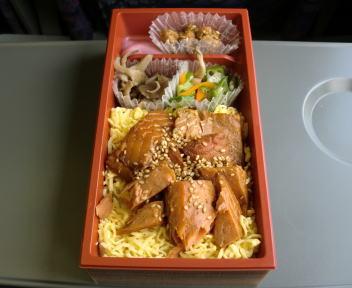 焼漬鮭ほぐし弁当②