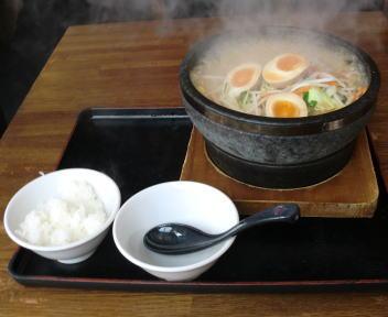 火山新松崎店 石焼野菜みそらーめん