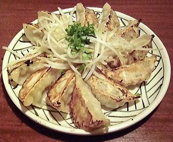 三宝亭村上店 三宝豚餃子