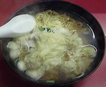 信吉屋 ワンタンメン(中盛)