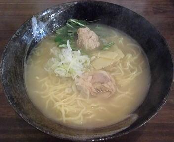 漢 鶏白湯ラーメン(醤油)