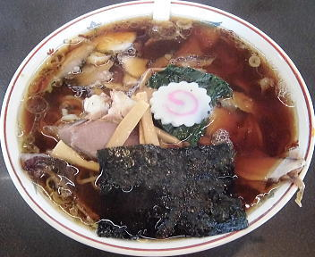 青島曲新町店 チャーシューメン(大)