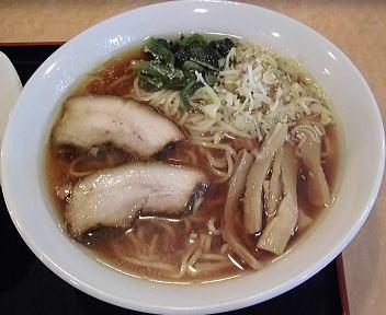 めん蔵 生姜醤油ラーメン