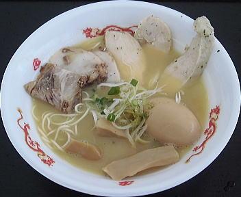 新潟ラーメン王国 鶏とろだく麺(極)