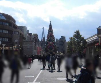 ユニバーサル・スタジオ・ジャパン クリスマス・ツリー