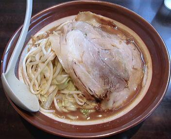 東横愛宕店 特製野菜みそラーメン