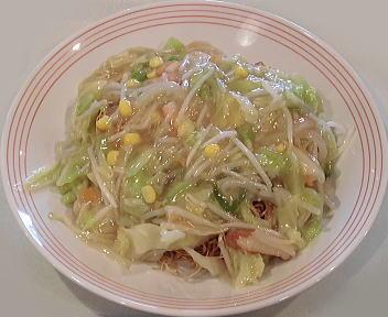 リンガーハット新潟河渡店 長崎皿うどん