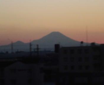 富士山 20140109
