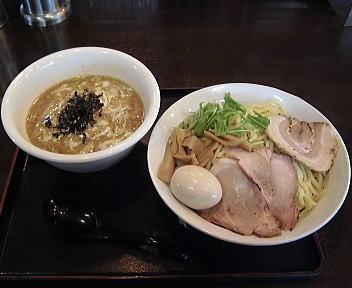 暁天 つけ麺(大盛)