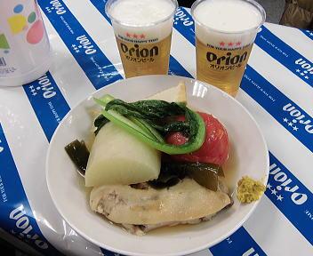 大沖縄展 沖縄おでん盛合せ+オリオンビール