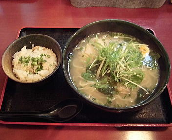真魚 味わい塩鯛拉麺