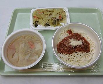 にいがた 冬 食の陣 当日座 学校の給食(昭和30年代)