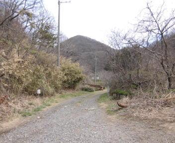 角田山 此の入沢コース①