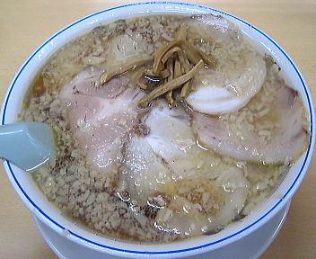 安福亭 叉焼麺