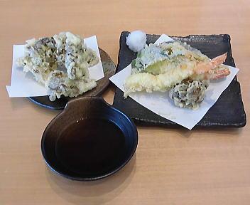 わたやイオン新潟南ショッピングセンター店 天ぷら+舞茸天ぷら