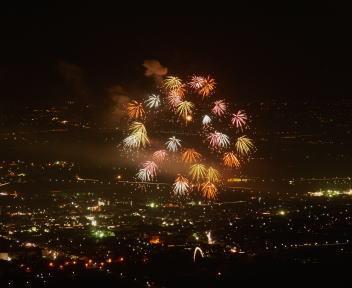 角田山稲島コース&まき夏まつり花火大会④