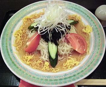 亜麺坊 醤油冷し麺