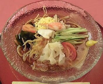 三彩 冷し中華(醤油ダレ)