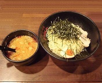 とうせんや つけ麺(冷盛・ゴマ味噌・大盛)