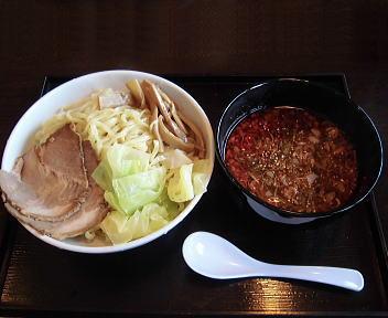 幸 辛つけ麺(大盛)