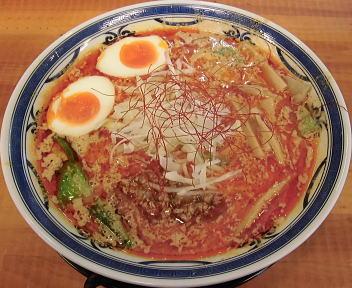 あんじ 背脂坦々麺