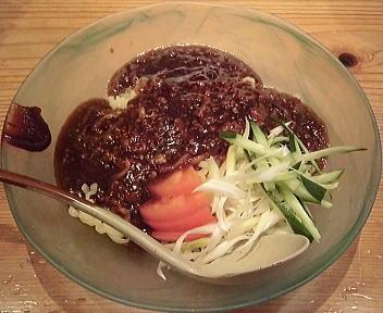 大安食堂東掘店 炸醤麺