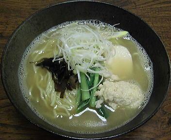 漢×2 鶏白湯ラーメン(醤油)