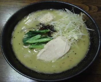 漢×2 鶏白湯味噌ラーメン(大盛)