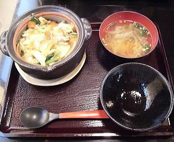 土鍋屋 土鍋ごはん/味噌豚