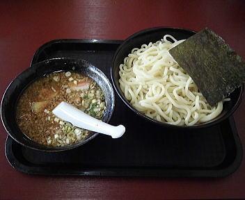 宝来軒 特つけ麺魚介豚骨つけ汁(大)