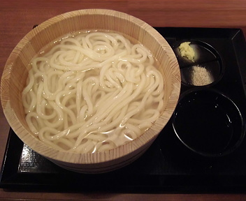 丸亀製麺柏崎店 釜揚げうでん(大)