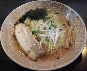 豊 白醤油拉麺