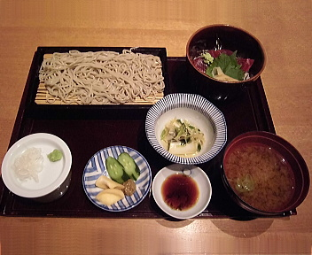 あさひ山 あさひ山そば御膳(海鮮丼)