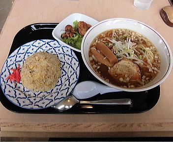 麺食堂 麺'sランチ(煮干し醤油ラーメン)