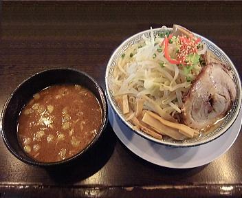 孔明女池上山店 ON(温)野菜みそつけ麺