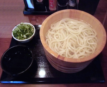 丸亀製麺酒田店 釜揚げうでん(特)