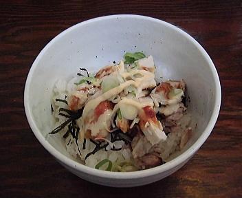 海老寿 ランチ(炙りチキン丼)