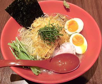 翔 冷製塩香味麺