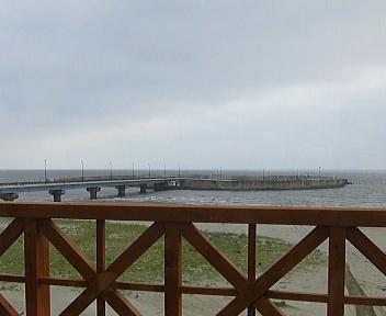 道の駅岩城(日本海・島式漁港)